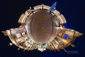 Little Planet - Place Stanislas by Night