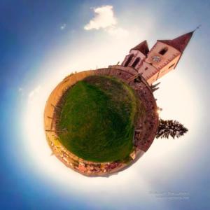 Miniplanete - Eglise de hunawhir